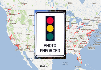 Photo Enforced United States Map